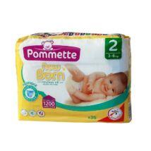 Pommette New Born pelenka (2-es) 3 - 6 kg (35 db/cs)
