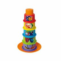 Playgo Tanuló játék Kalapos bohóc építőjáték