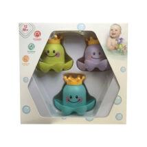 Baby Toys Fürdőjáték Rakosgatós polipok (3 db/cs)