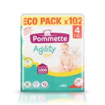 Pommette pelenka Eco pack (4-es) 7 - 18 kg (102 db/cs)