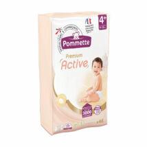 Pommette Premium Active pelenka Csomagolás sérült! (4+-os) 9 - 20 kg (46 db/cs)