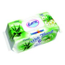 Lara Popsitörlő Aloe Vera kupakos (120 db/cs)