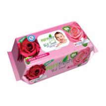 Pufy Fresh Popsitörlő Rózsa kert kupakos (120 db/cs)