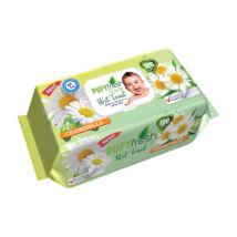 Pufy Fresh Popsitörlő Kamilla kupakos (120 db/cs)