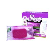 Sleepy Popsitörlő Orgona illattal kupakos (60 db/cs)