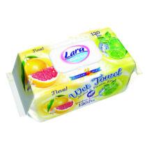 Lara Popsitörlő Citrom&grapefruit kupakos (120 db/cs)