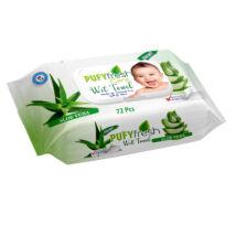 Pufy Fresh Popsitörlő Aloe Vera kupakos (72 db/cs)