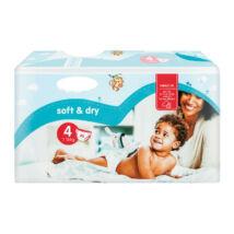 Soft&Dry pelenka (4-es) 7 - 18 kg (50 db/cs)
