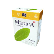 Bella Medica Tampon Medica Regular (méret: normál) (8 db/cs)