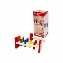 Ferry Tanuló játék Fa kalapácsos ütögetős készlet