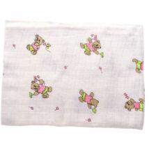BabyBruin Textilkifogó mintás 80 * 90 cm