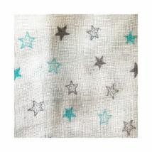 BabyBruin Textilpelenka Csillag mintás mintás 70 * 70 cm (2 db/cs)