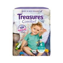 Treasures Comfort pelenka Toddler (4-es) 10 - 15 kg (34 db/cs)