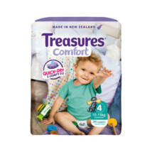 Treasures Comfort pelenka Toddler (4-es) 10 - 15 kg (34 db/cs)