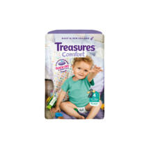 Treasures Comfort pelenka Toddler (4-es) 10 - 15 kg (66 db/cs)