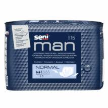 Seni Man Inkontinencia betét Férfiaknak (méret: normál) (15 db/cs)