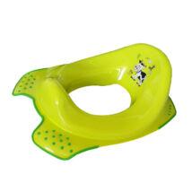 Keeper WC szűkítő Funny Farm, csúszásgátlós, Zöld