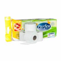 Perfex WC papír Kamillás 120 lapos (10 db/cs)