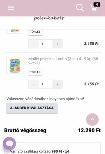 Ajándék Evony arcmaszk Molfix pelenka vásárlása esetén a Gregersen Bababoltban.