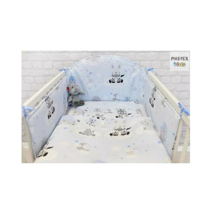 Pihetex Gyermek ágynemű szett Afrikai álom, kék 90 * 140 cm