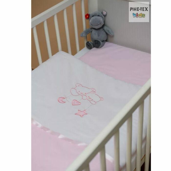 Pihetex Gyermek ágynemű szett Hímzett, vegyes minta, lányos 90 * 140 cm