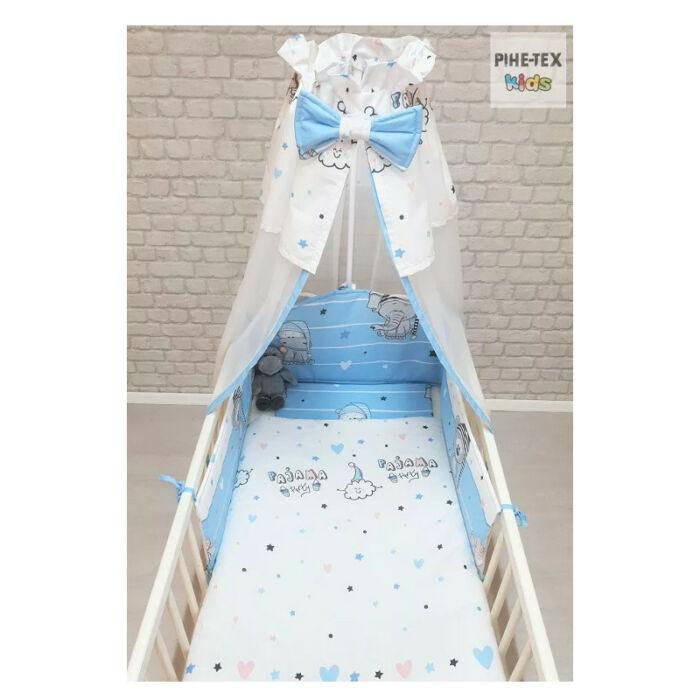 Gyermek ágynemű szett Pizsiparti, kék 90 * 140 cm