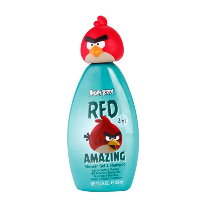 Angry Birds Gyereksampon és tusfürdő, Red