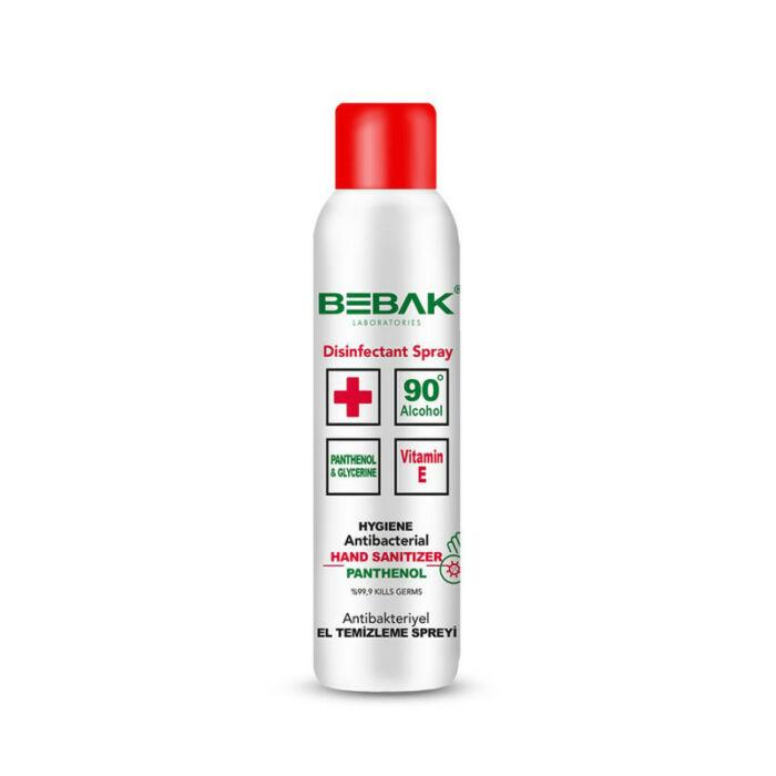 Bebak Kézfertőtlenítő spray Antibakteriális