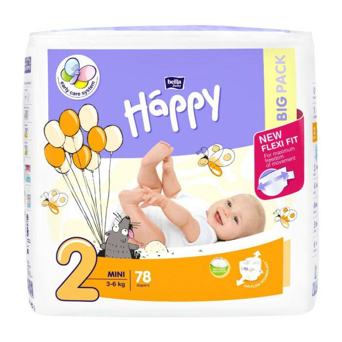 Bella Happy pelenka (2-es) 3 - 6 kg