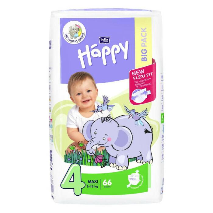 Bella Happy pelenka Csomagolás sérült! (4-es) 8 - 18 kg