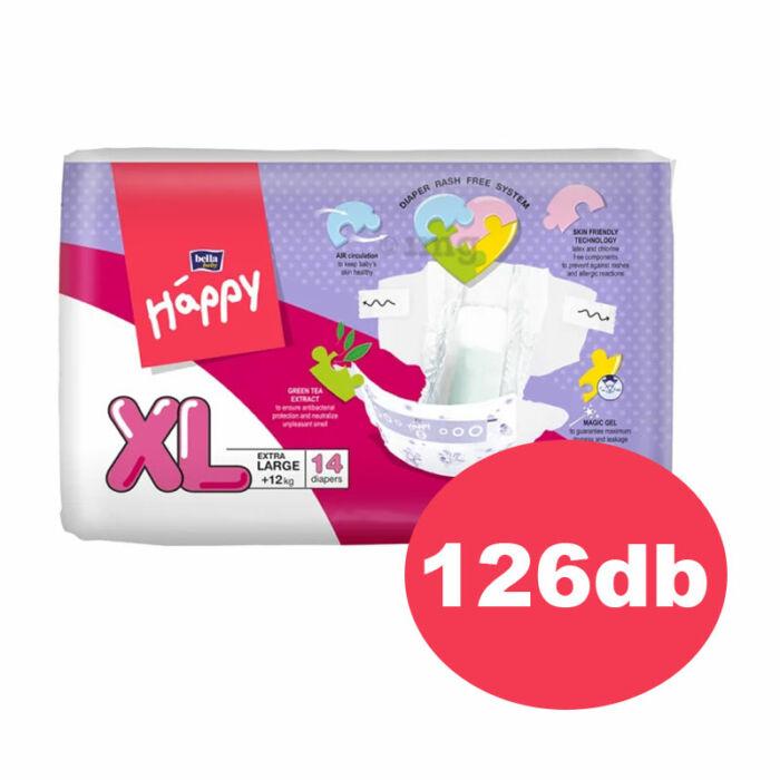 """Bella Happy pelenka """"XL"""" (5-ös) 12+ kg"""