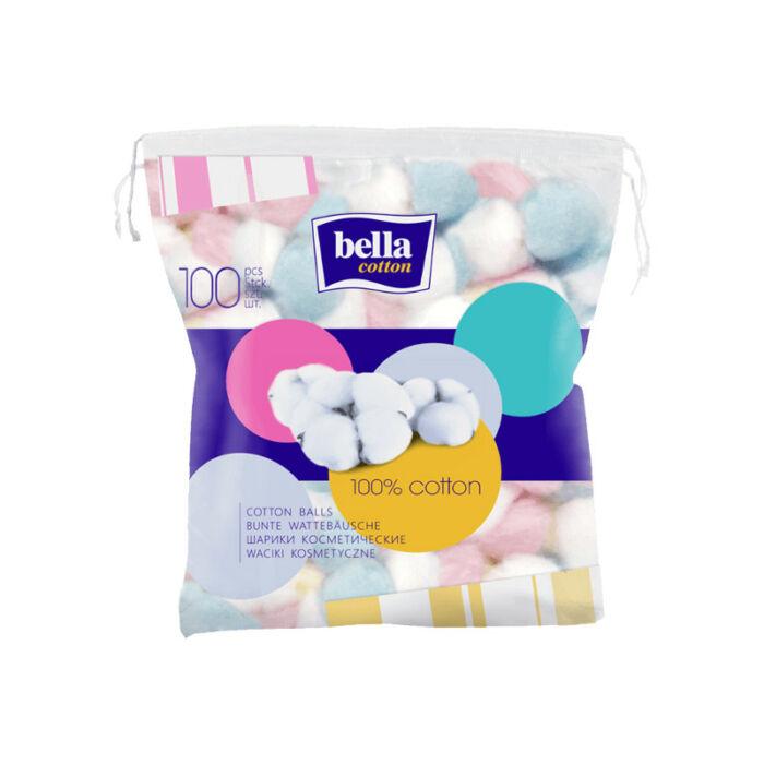 Bella Kozmetikai vatta Cotton, Színes vattapamacsok