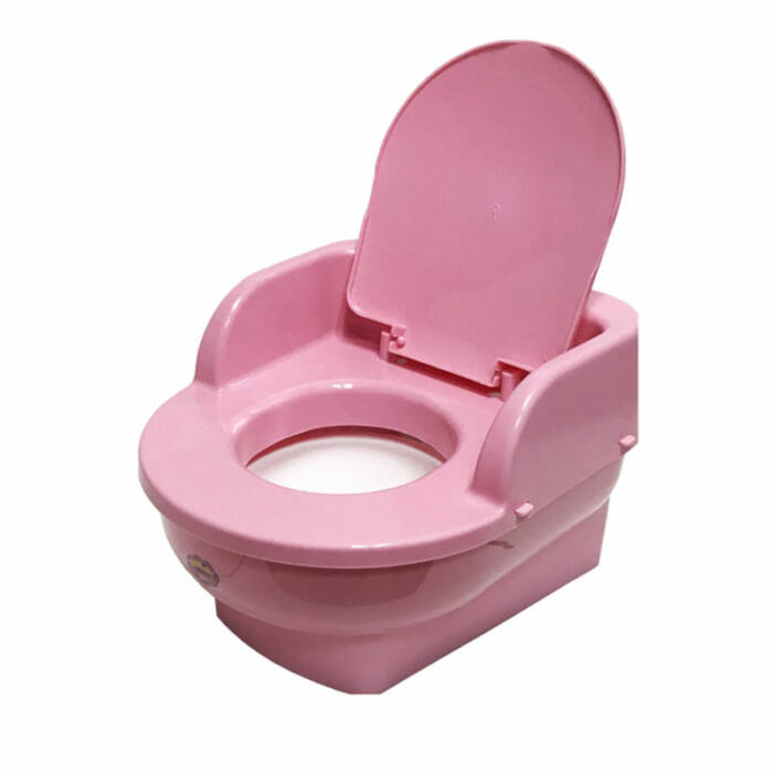 Maltex Bili WC formájú, rózsaszín