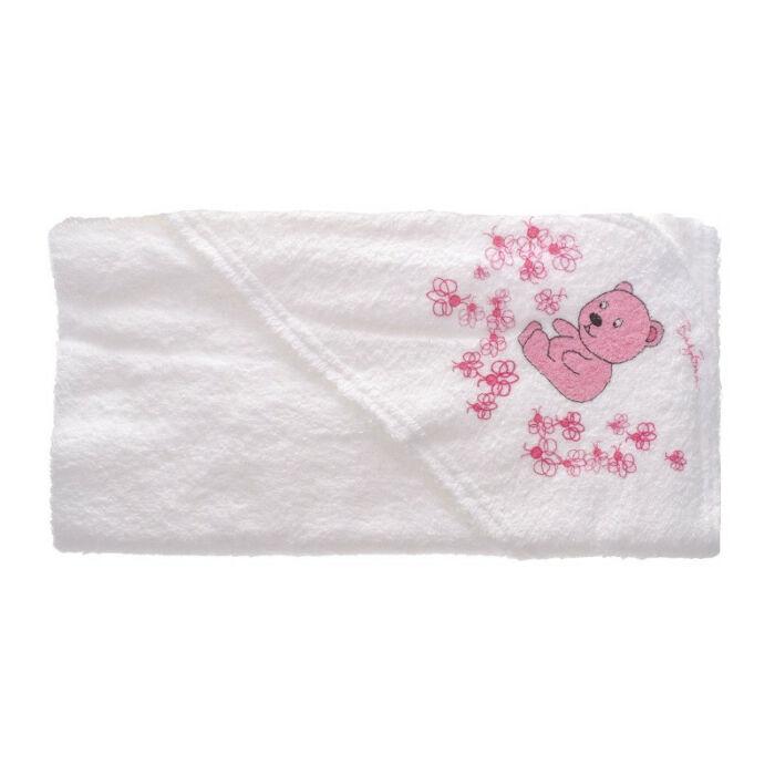 BabyBruin Fürdőlepedő kapucnis 80 * 90 cm