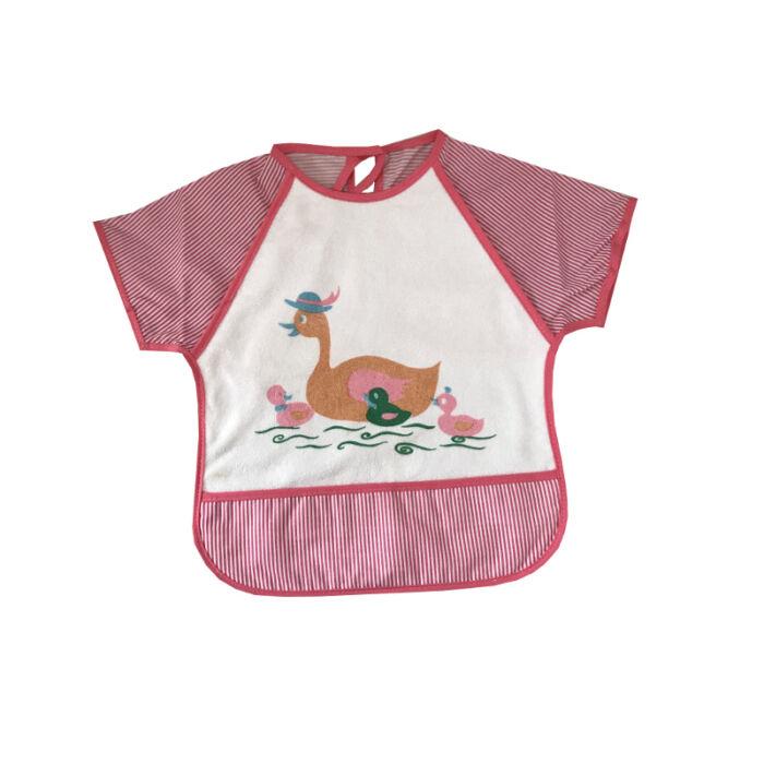 BabyBruin Etetőkabát Frottír, ujjas, zsebes