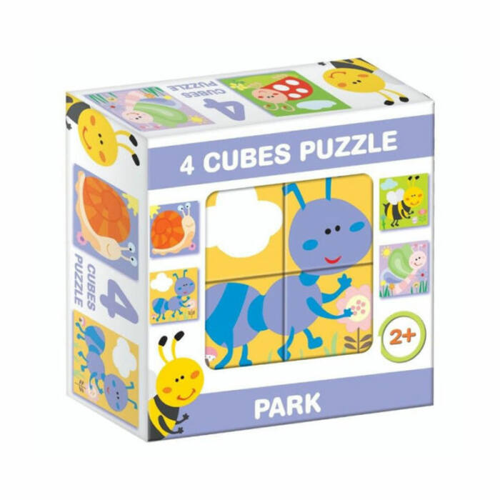 """D-Toys Tanuló játék Mesekocka """"park"""""""