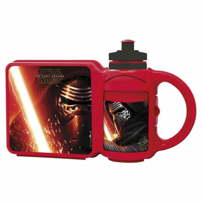 Disney Ételtároló doboz Star Wars, uzsonnásdoboz kulaccsal