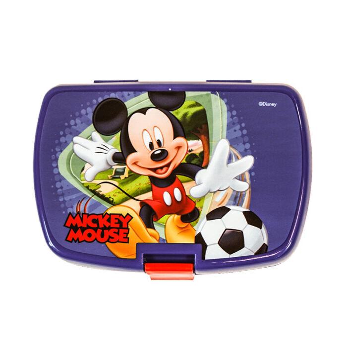 Disney Mickey Mouse Ételtároló doboz uzsonnásdoboz, kattanózáras