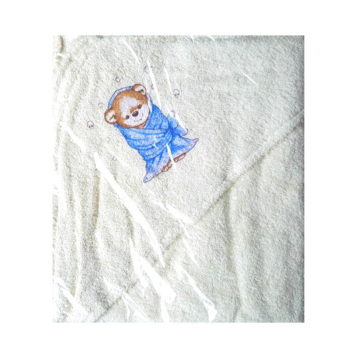 BabyBruin Fürdőlepedő kapucnis 80 * 120 cm