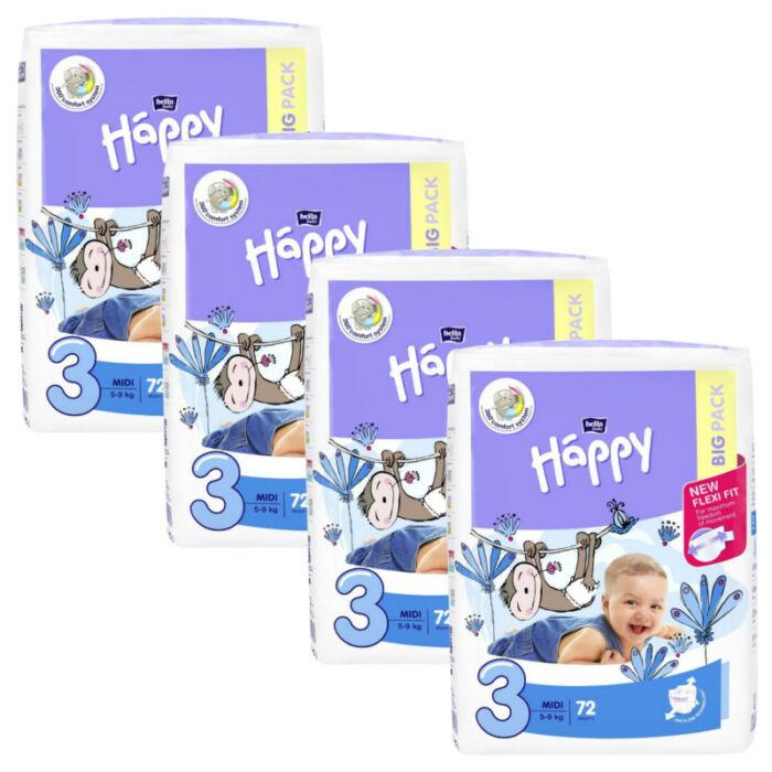 Bella Happy Havi pelenkacsomag (3-as) 4 - 9 kg