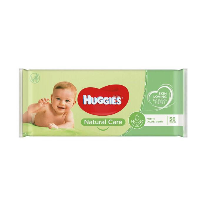 Huggies Natural Care Popsitörlő