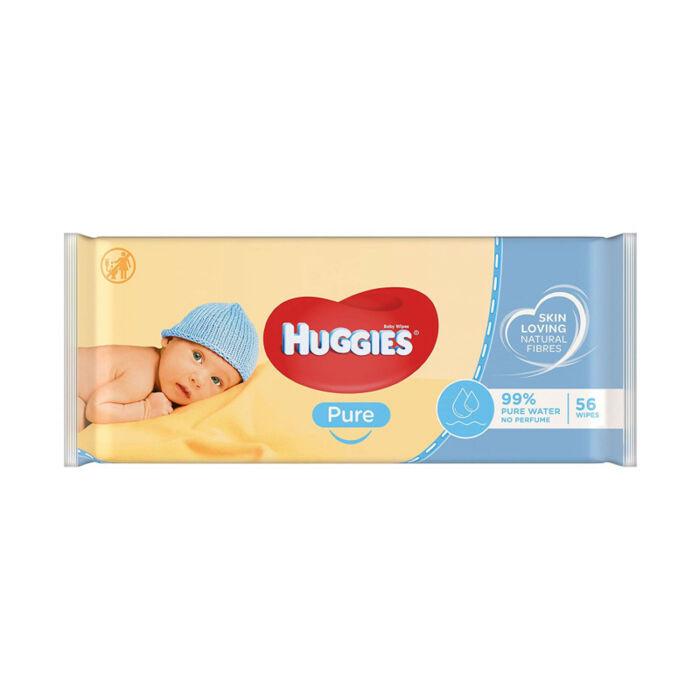 Huggies Pure Popsitörlő illatmentes sensitive