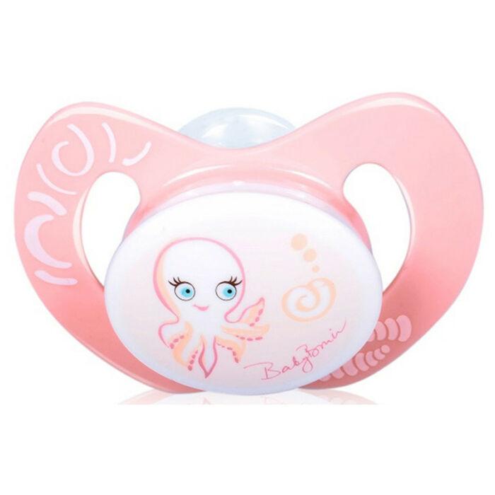 BabyBruin Játszócumi Polip szilikon fogszabályzós (méret: 2) 6 - 18 hó