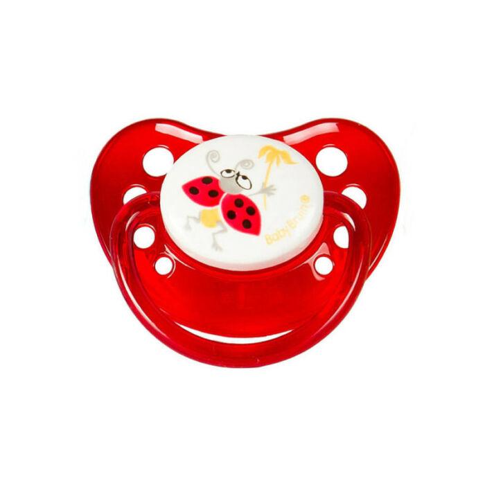 BabyBruin Játszócumi szilikon fogszabályzós (méret: 1) 0 - 6 hó