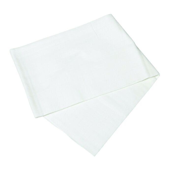 BabyBruin Textilkifogó fehér 90 * 120 cm