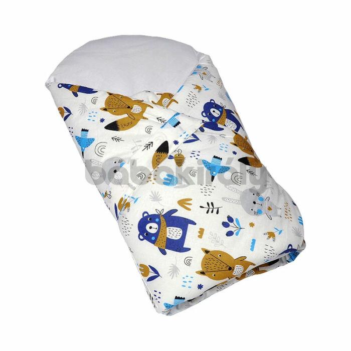Babakirály Kókuszpólya Erdei állatok, kék