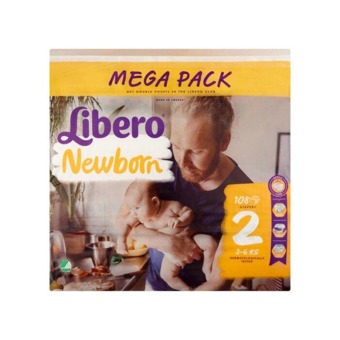 Libero Comfort pelenka MegaPack (2-es) 3 - 6 kg