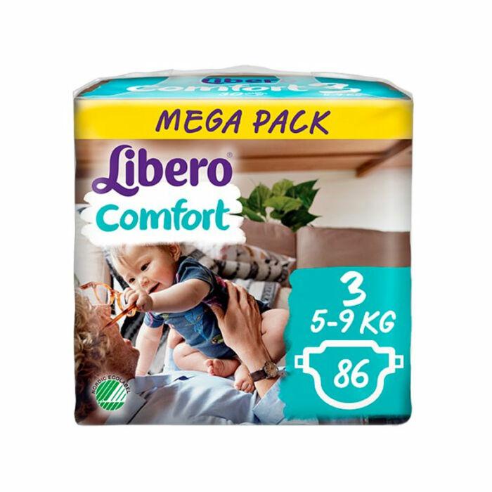 Libero Comfort pelenka MegaPack (3-as) 5 - 9 kg