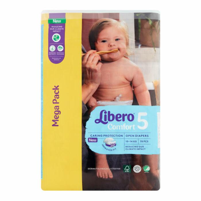 Libero Comfort pelenka MegaPack (5-ös) 10 - 14 kg