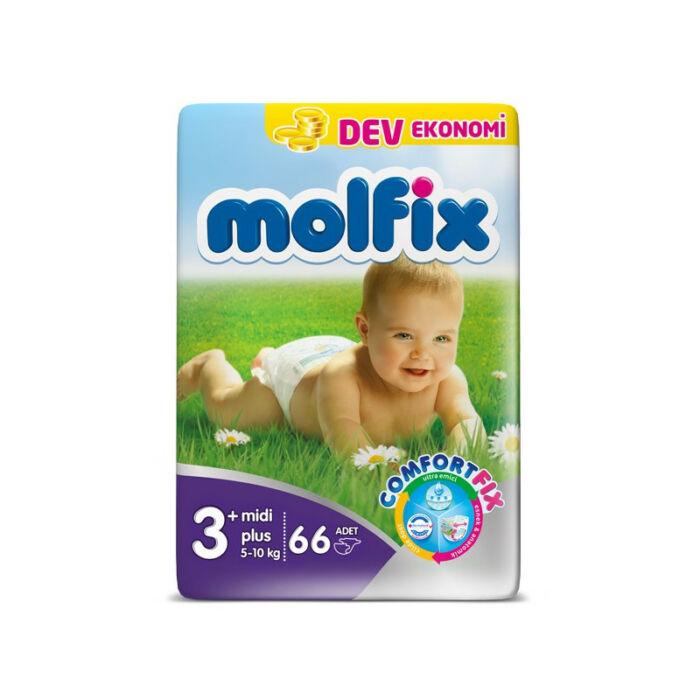 Molfix pelenka Jumbo (3+-os) 5 - 10 kg